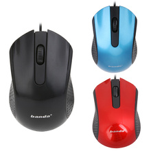 Hot Sale Brand 3D Optical USB Wired Mouse Mice 1600 DPI Ergonomic Gaming Mouse For PC Laptops Mouse To Computer