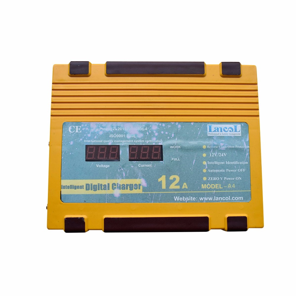 Здесь продается  12V/24V Car Battery Charger 180V To 260V 12A Smart Fast Power Charging For Wet Dry Lead Acid Digital LCD Display  Автомобили и Мотоциклы