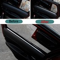 4 Pcs DIY Car Styling New Stainless Steel The Door Windows Edge Sticker Cover Case for 2016 New Mitsubishi Outlander Accessories