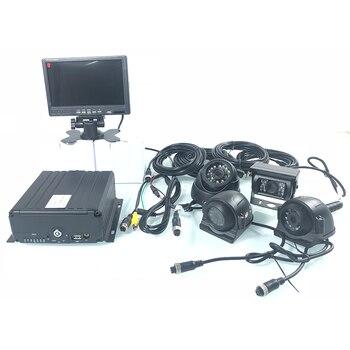 256G cartão SD HD híbrido sistema de monitoramento de host atualização escalável 3/4G caminhão kit de monitoramento de táxi/ agrícola locomotiva