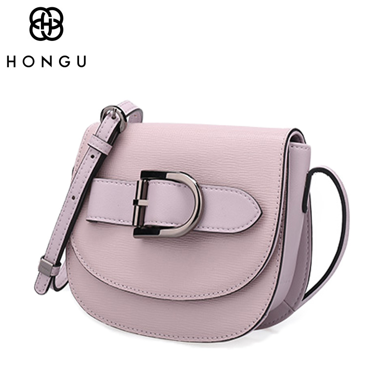HONGU Famous Brand Designer Genuine Leather Chains Shoulder Bags Handbag For Women Crossbody Classic Chains Ladies Messenger Bag fashion casual michael handbag luxury louis women messenger bag famous brand designer leather crossbody classic bolsas femininas