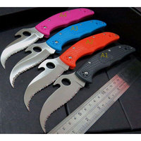 HOT CS GO Karambit Knives C10 SBK2 Matriarch2 Folding Knife 3 5 8 VG10 Serrated Blade