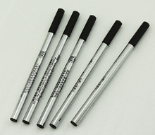 5 PCS Duke Rollerball Pen Black Ink Refills 0.7mm, Push Type , 110 mm