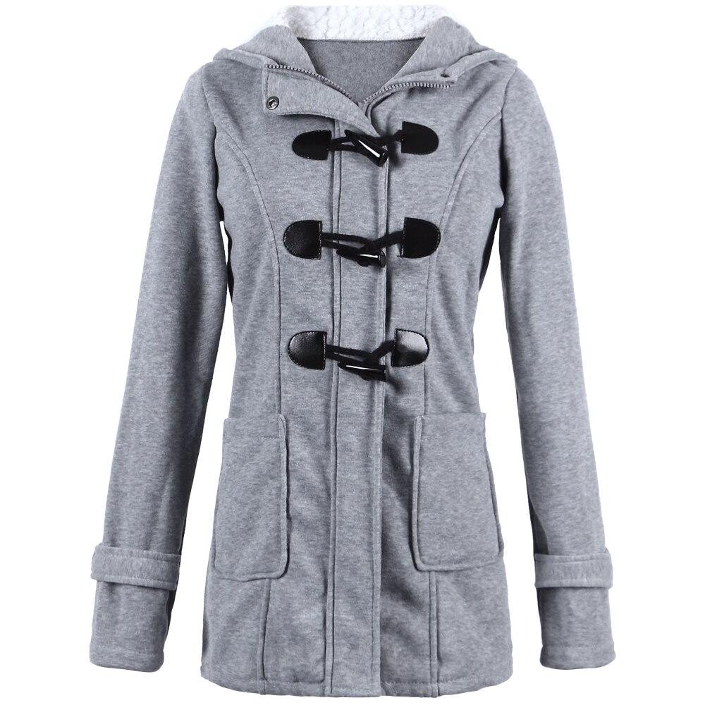 Women Coat New Autumn Winter Basic Jacket XXXXL 5XL Plus Size Sweatshirt Solid Hooded Zip Top Bomber European Style Outerwear 1