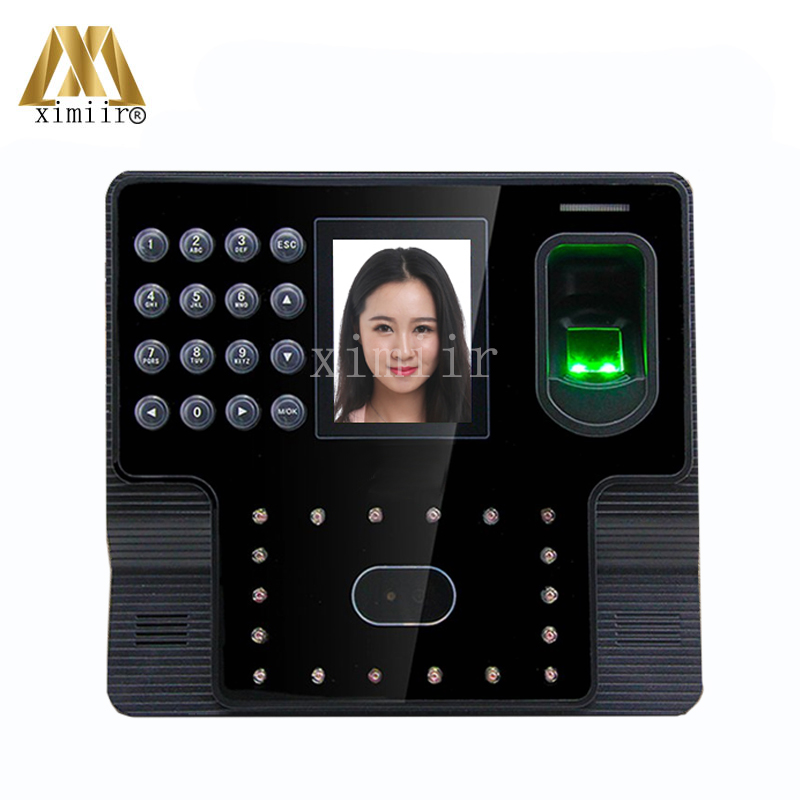 Biometric Face  Fingerprint  Time Attendancetime Clock TCP/IP Facial Time Attendance Terminal Iface102