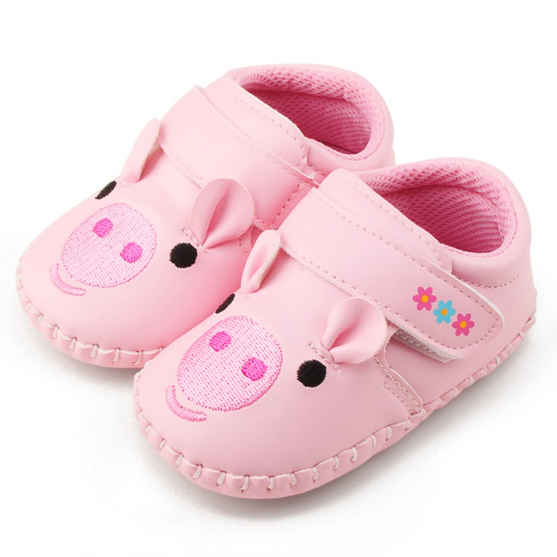 2018 Fashion New Animal Lovely Cartoo Baby Shoes Girls Boy First Walkers Newborn Shoes 0-18M Shoes First Walkers