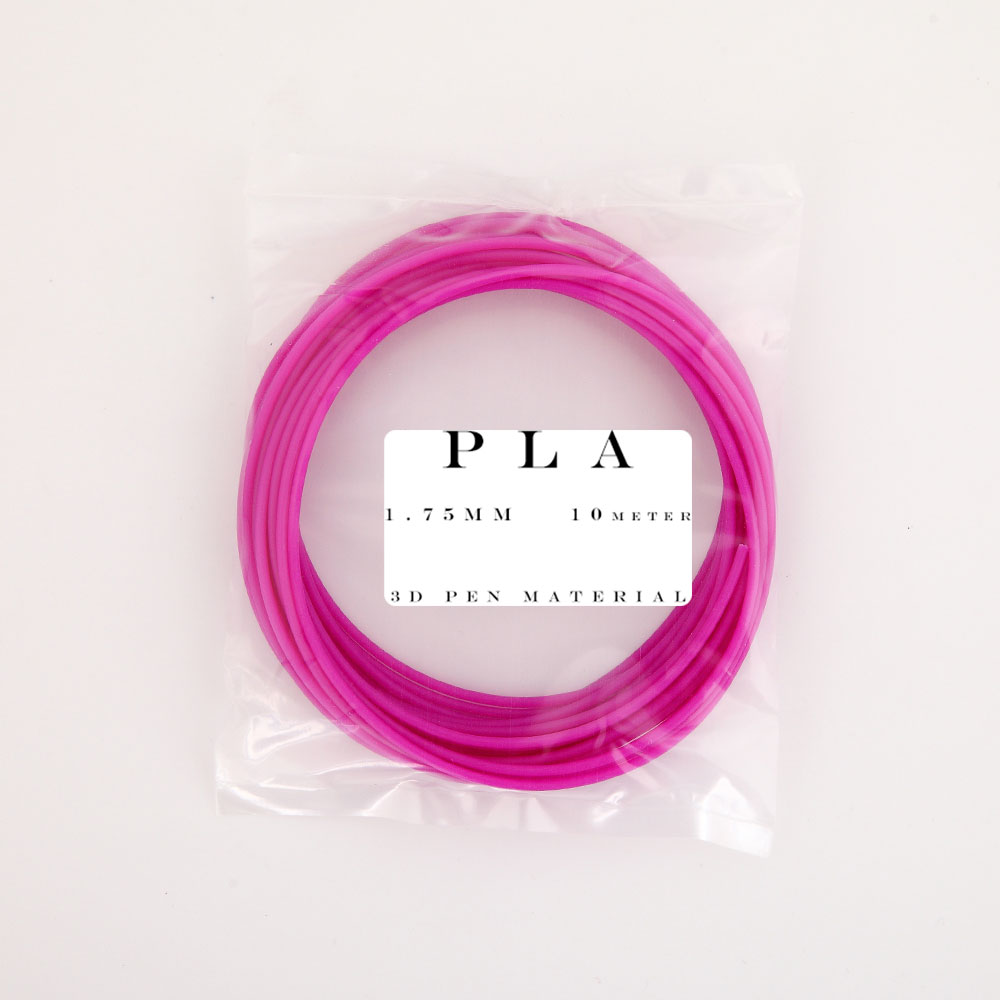 10 Meter PLA 1 75mm Filament Printing Materials Plastic For 3D Printer Extruder Pen Accessories in 3D Printing Materials from Computer Office