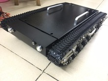 Big load Tank car Chassis RC Tracked Car large size shock absorption car chase with suspension system metal track