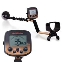 KKMOON FS2 Professional High Sensitivity Gold Detector Underground Metal Detector Gold Detector Waterproof