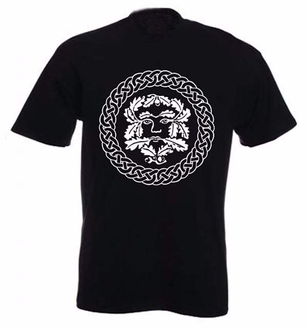 1f01e6a7e3e Online Shop 2019 Summer T Shirt Design Style New Fashion Clothing Tops  Hipster Hot Sale Tribal T-Shirts Men s Green Man Pagan Tee Shirt