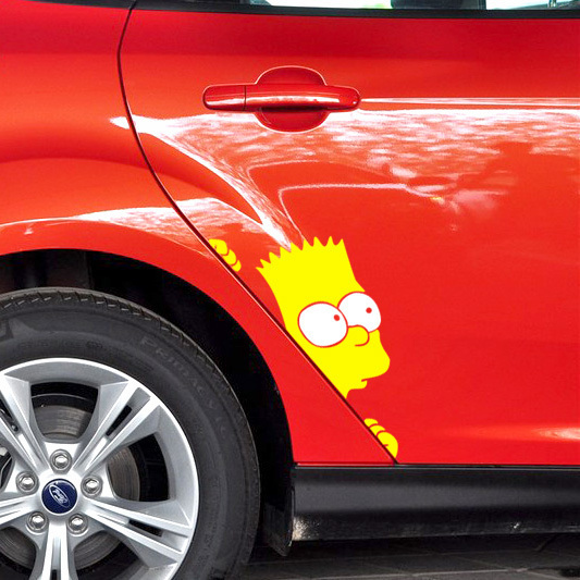 Online Buy Wholesale simpsons sticker from China simpsons ...