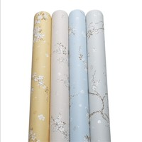 Wallpapers Youman Non woven Floral For Walls In Rolls Wallpapers For Living Room Modern Warm Garden Flowers Natural Environment