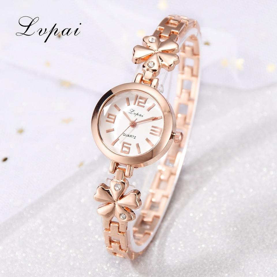 2020 Lvpai Watches Women Fashion Watch Luxury Quartz Watch Stainless Steel Womens Ladies Watches Relogio Feminino Clock