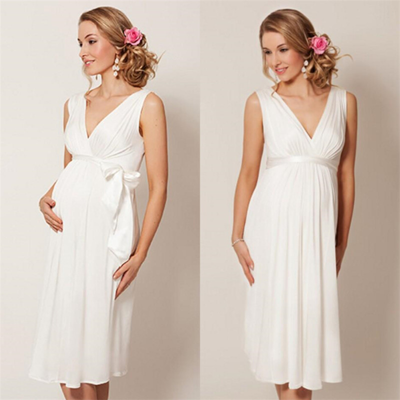 Popular wedding dress for pregnant women buy cheap wedding for Wedding dress for pregnant woman