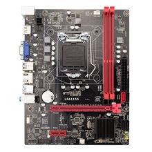 B75 Desktop Motherboard Lga1155 For I3 I5 I7 Cpu Support Ddr3 Memory Supports I53450/3470 Usb3.0 Sata3.0 Ultra H61 b75 lga 1155 motherboard socket lga1155 ddr3 32gb sata3 0 usb3 0 dual channel for intel i3 i5 i7 xeon not ddr4 not m 2