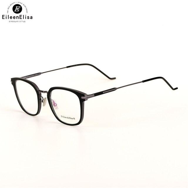 abf02e5a1c4 EE Fashion Newest Style Titanium Frame Plain Eyeglass Frame Optics Clear  Reading Glasses Mens Prescription Eyeglasses