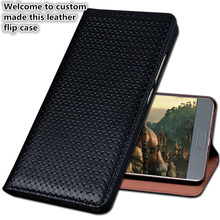 HY02 Luxury Genuine Leather Flip Coque Cover For OnePlus 7 Pro(6.67′) Phone Case For OnePlus 7 Pro Phone Bag Kickstand