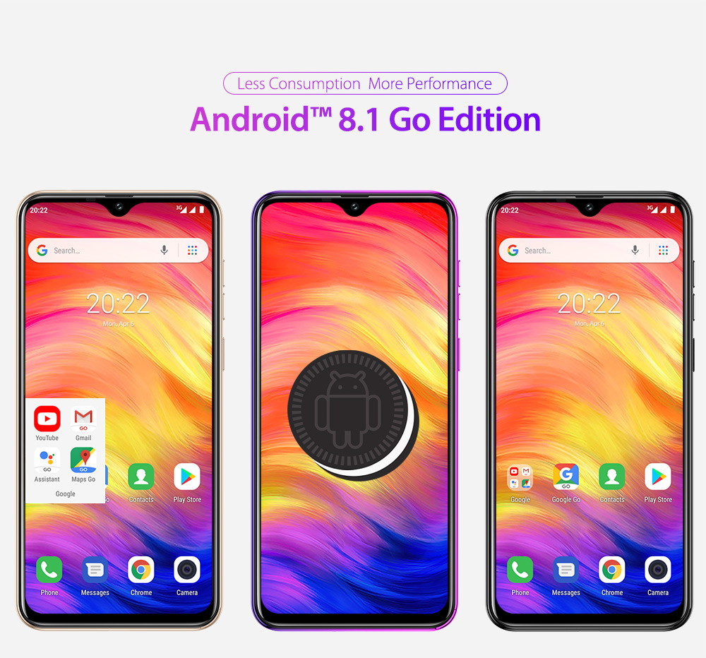HTB1.N61RPDpK1RjSZFrq6y78VXaU Ulefone Note 7 Smartphone 3500mAh 19:9 Quad Core 6.1inch  Waterdrop Screen 16GB ROM Mobile phone WCDMA Cellphone  Android9.0