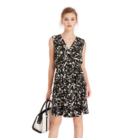 Women Summer Plus Size Short Dress Floral Print V Neck Sexy Party Maxi Vestidos Hot Sale