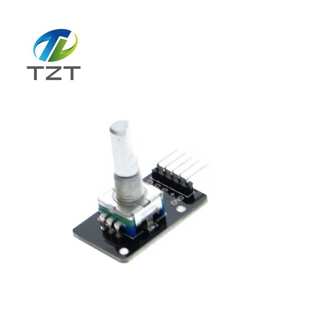 1PCS FREE shipping Rotary Encoder Module Brick Sensor Development for  Dropshipping KY-040