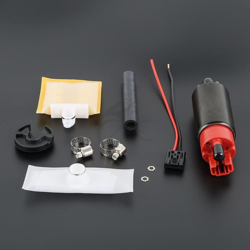 New OEM Replacement EFI Fuel Pump & Install Kit 07 Motorcycle