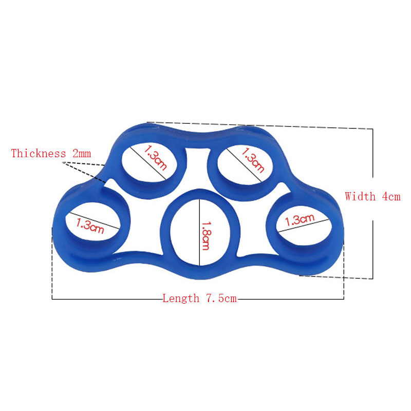 Silicone Finger Resistance Strength Trainer 5