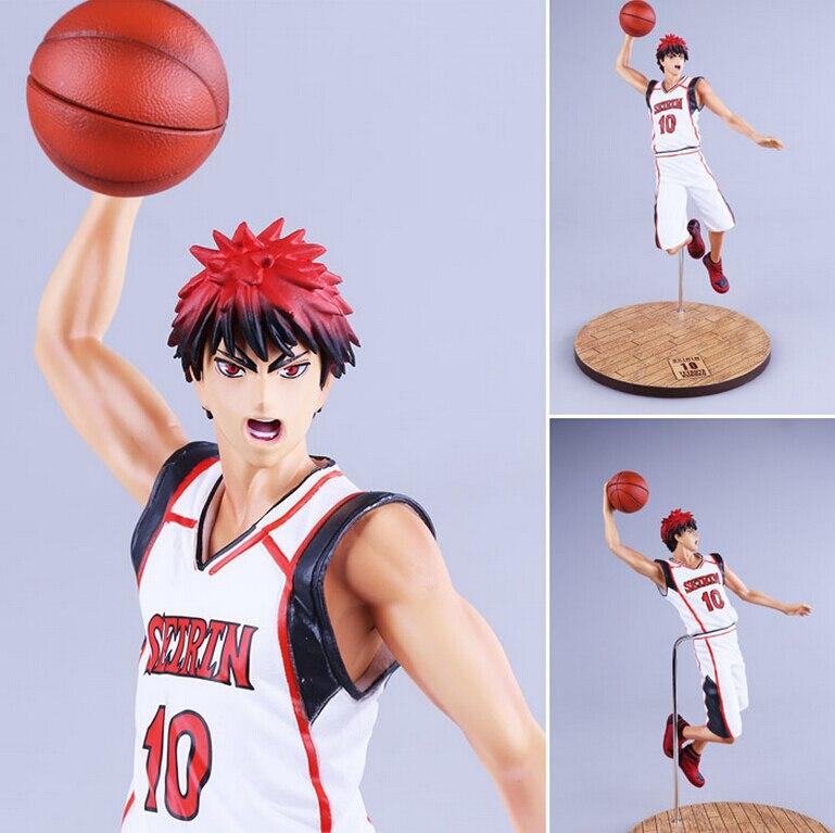 26cm Anime Games Kuroko no Basket Kagami Taiga Slam dunk PVC Action Figures Collection Model Toys Doll Free shipping KA0132 catalog games collection