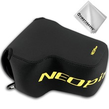 First2savvv Neoprene Camera Case Bag for Nikon COOLPIX P1000 Ultra Light