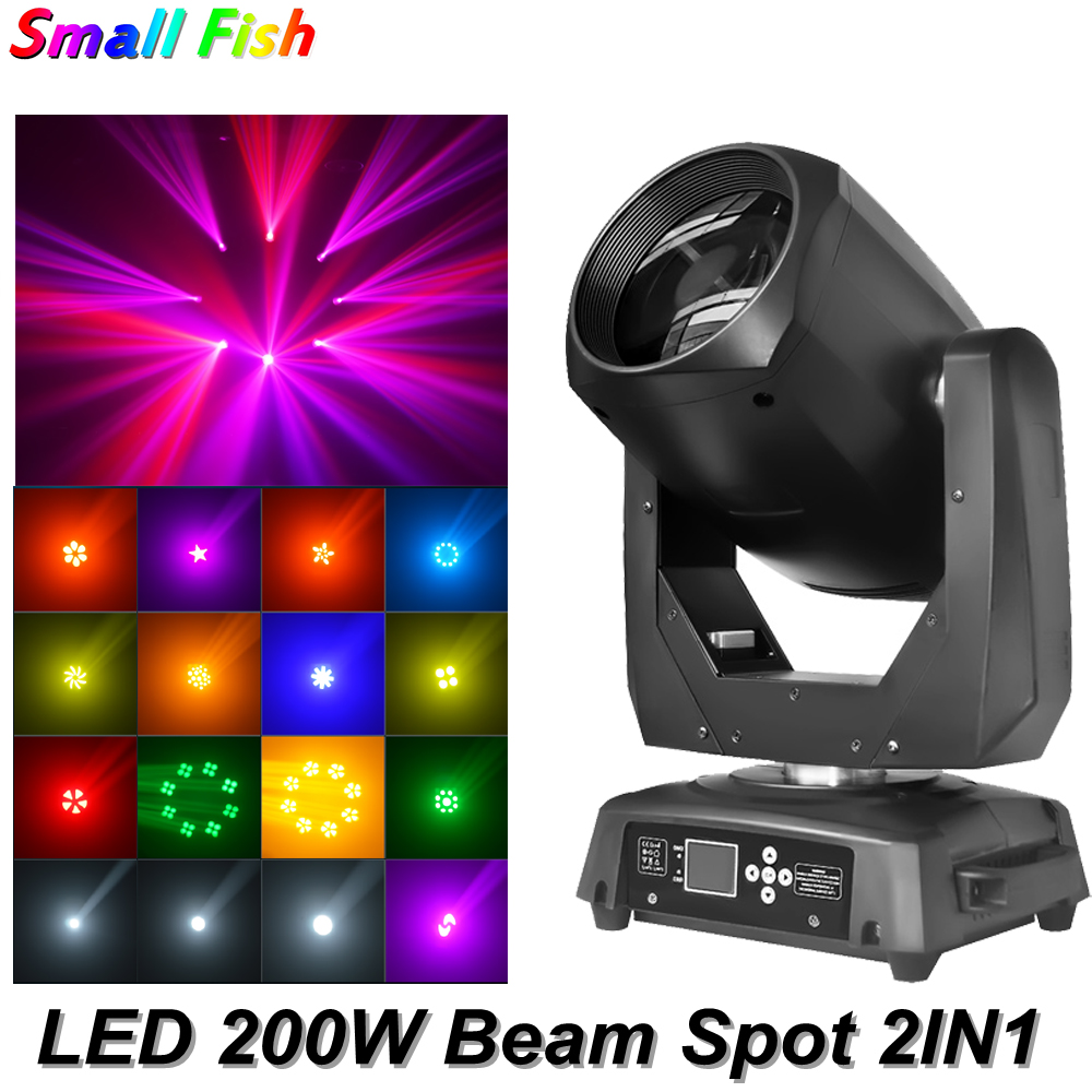 Infinite Electric Focus LED Spot Beam 200W Lighting Moving Head Light Beam DJ Light Music LED Free Shipping Disco Party Lights