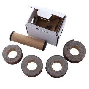 Image 5 - Rolo macio da lixa das correias de moedura dos pces 25mm * 6m da correia 4 de lixamento de pano de emery da lixa para os turners de madeira, automotivo