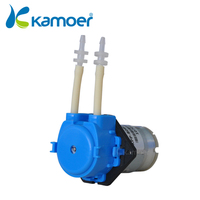 Kamoer New KP Peristaltic Pump 3V 6V 12V 24V DC Water Pump With Pharmed BPT Tubing