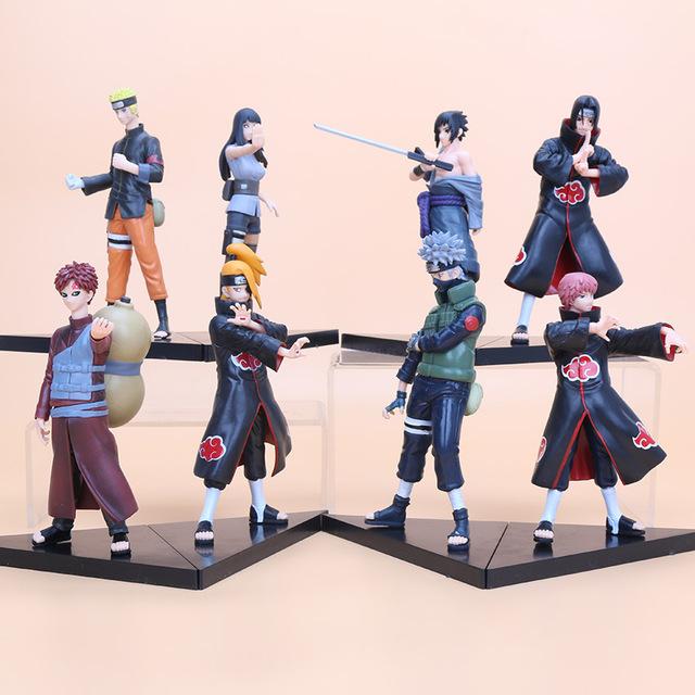 2 Piece Set Naruto Action Figures