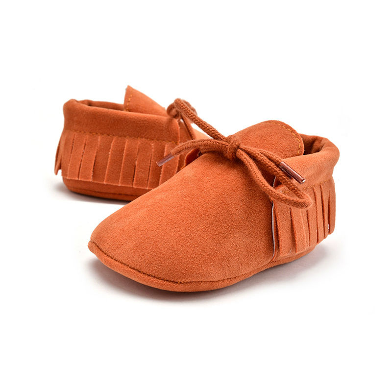 Fashion Tassels Soft First Walkers Shoes For Baby Girls Boys Lace-up Sport Shoes 11 Colors Newborns Baby Toddler Shoes