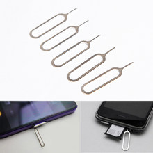 10 PCS Metal Sim Card Tray Removal Eject Pin Key Tool Needle Mobile Phone Accessories For Your Own Hands(China)