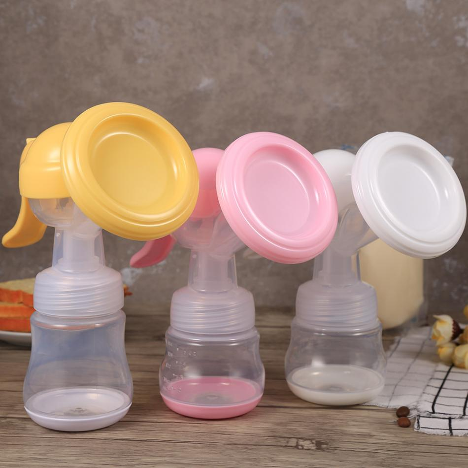 Adjustable Safety PP Material Breastfeeding Nursing Bottle Portable Female Soft Manual Breast Pump Safety Milk Suction Divice