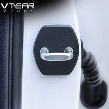 Vtear For creta hyundai ix25 Door Lock Protective Cover car Exterior Antirust trim sticker car-Styling products accessories 2016