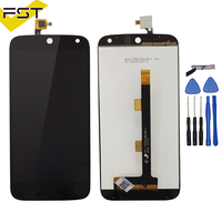 High Quality Black Lcd For Acer Liquid Z630 LCD Display + Touch Screen Digitizer Assembly Replacement Parts+ Tools