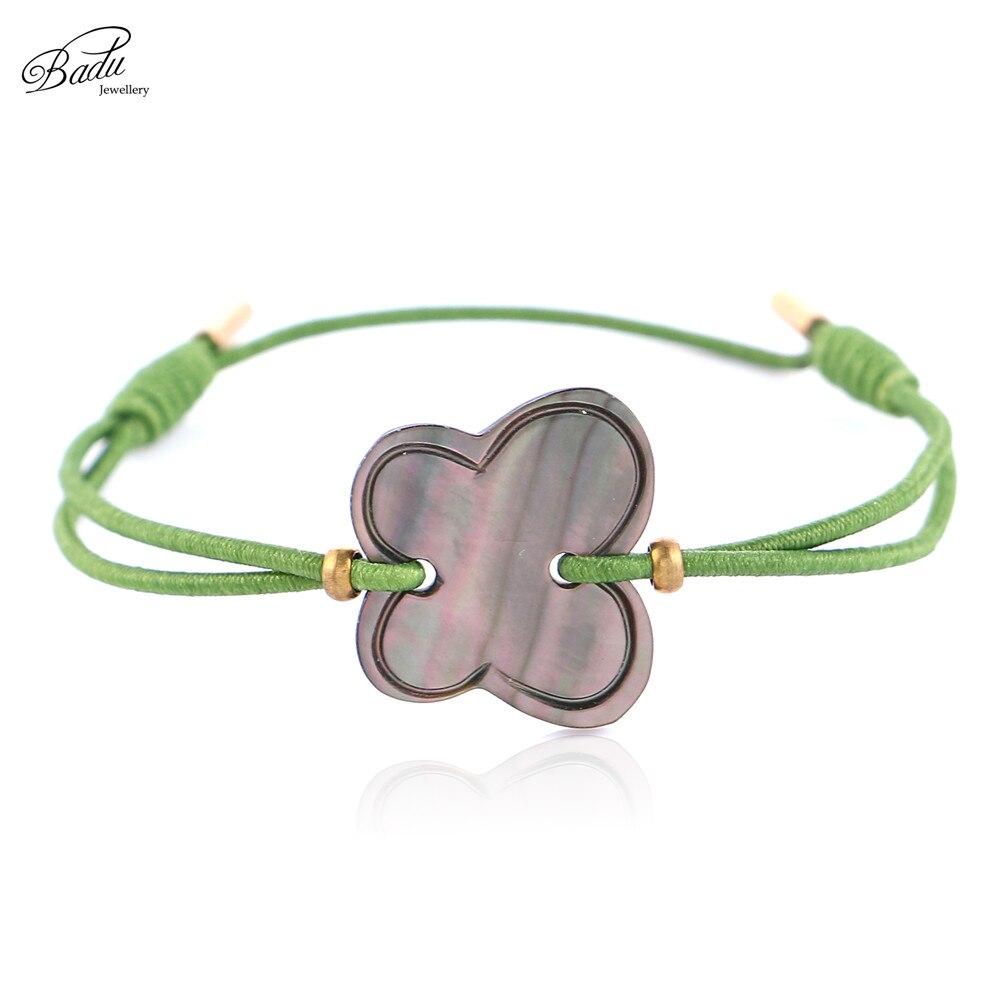 Badu Charms Bracelets Women Animal Pendant Adjustable Elastic String Bracelet Trendy Jewelry Gift for Girls