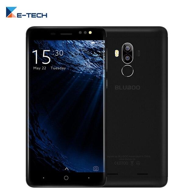 Original Bluboo D1 Android 7.0 Double Caméra Arrière Téléphone Portable 5.0 Pouce 1280*720 Mobile Téléphone 2 GB RAM 16 GB ROM 2600 mAh Smartphone