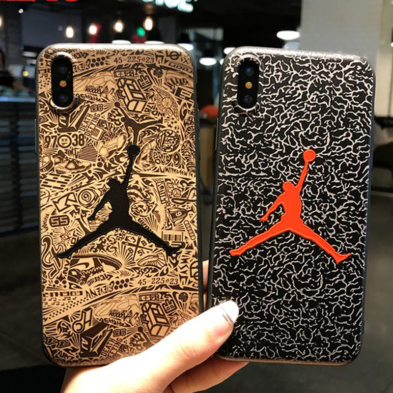 sFor iPhone 6 <font><b>Case</b></font> iPhone 7 <font><b>Case</b></font> Matte Soft TPU Silicone Jordan <font><b>NBA</b></font> <font><b>Phone</b></font> <font><b>Case</b></font> For iPhone 8 Plus <font><b>Case</b></font> iPhone X Captain America