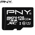 PNY Оригинальный TF Карта Micro Sd Class 10 Micro SDXC SDHC UHS-1 U1 128 ГБ 64 ГБ 32 ГБ 16 ГБ 8 ГБ Карты Флэш-Памяти 90 МБ/С. производительность
