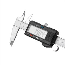 Wholesale prices 2017 new 150mm 6inch LCD Digital Vernier Caliper Electronic Gauge Micrometer Measurement for car wholesale A2000