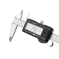 2017 New 150mm 6inch LCD Digital Vernier Caliper Electronic Gauge Micrometer Measurement For Car Wholesale A2000