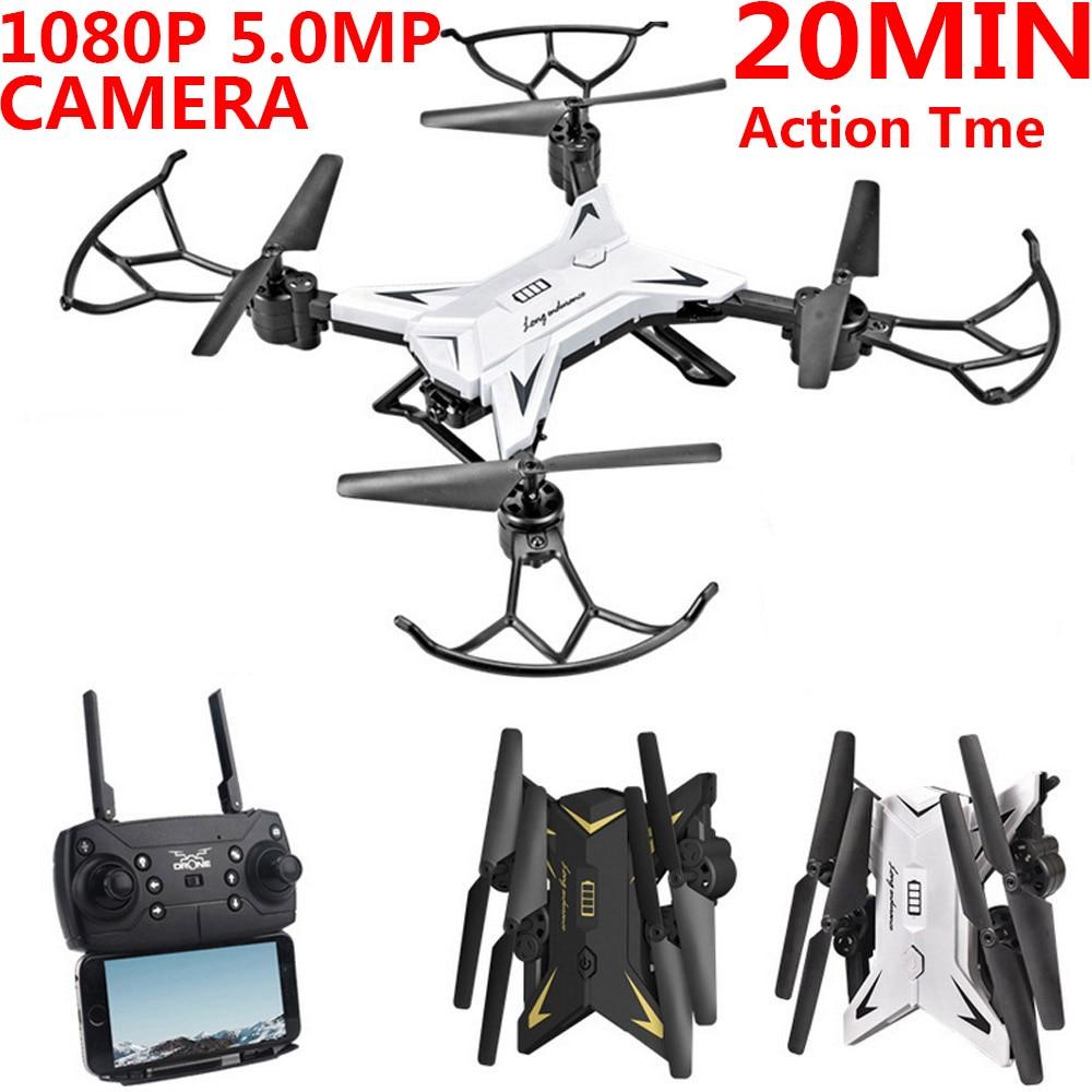 Drone X Pro 2.4g Selfi Wifi Fpv 1080p Camera Foldable Rc Quadcopter 4*batteries Toys & Hobbies