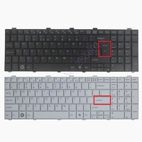 New US Keyboard For Fujitsu Lifebook AH530 AH531 NH751 Black English Laptop Keyboard
