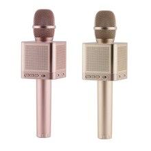 Marca original micgeek q10s karaoke microfone sem fio 2.1 trilha de som dimensional som mudança de voz 4 alto falantes smartphone