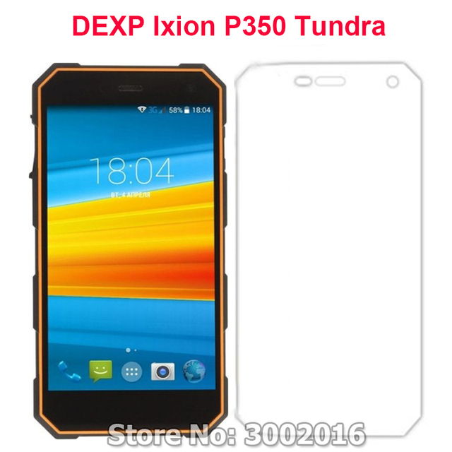 2 piezas para DEXP Ixion P350 Tundra Protector de pantalla de vidrio templado para DEXP Ixion P350 Tundra Protector de teléfono inteligente película