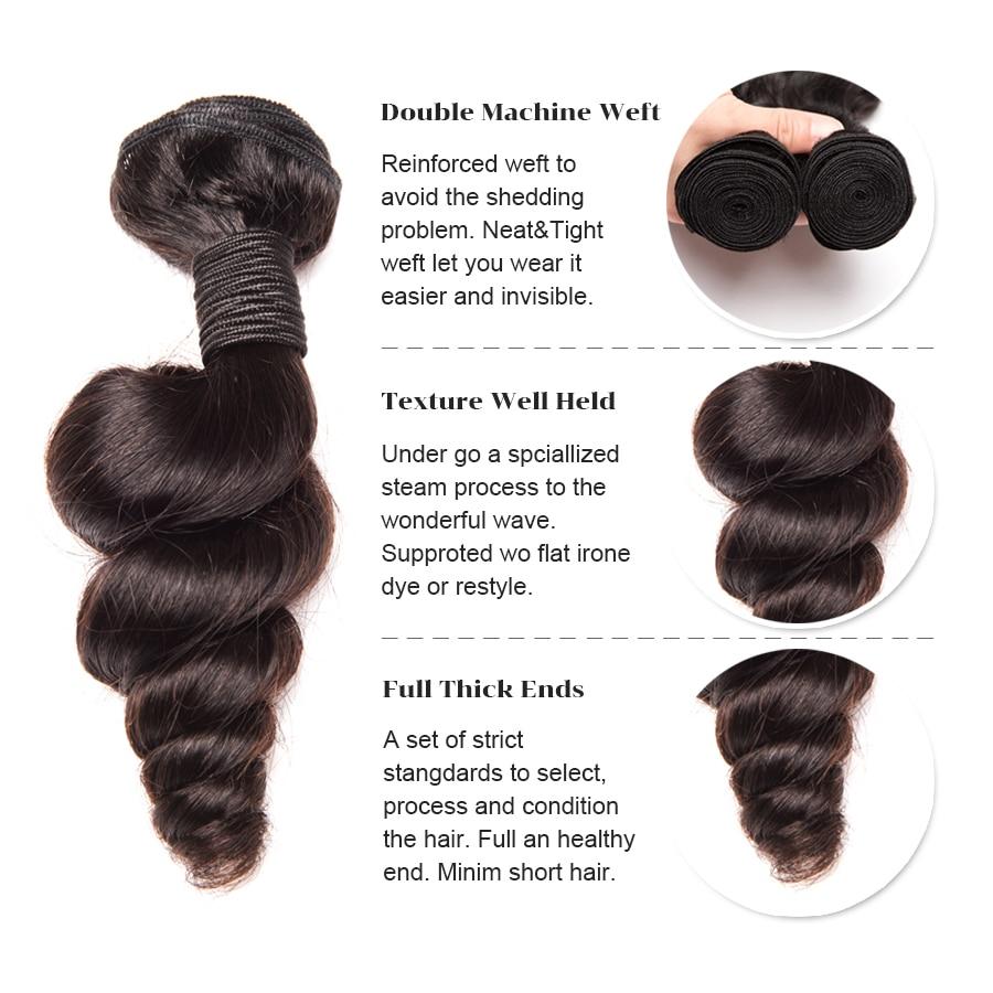 Paketat e Valës së - Flokët e njeriut (të zeza) - Foto 2