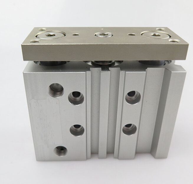 bore 63mm *75mm stroke MGPM attach magnet type slide bearing pneumatic cylinder air cylinder MGPM63*75 acq100 75 b type airtac type aluminum alloy thin cylinder all new acq100 75 b series 100mm bore 75mm stroke