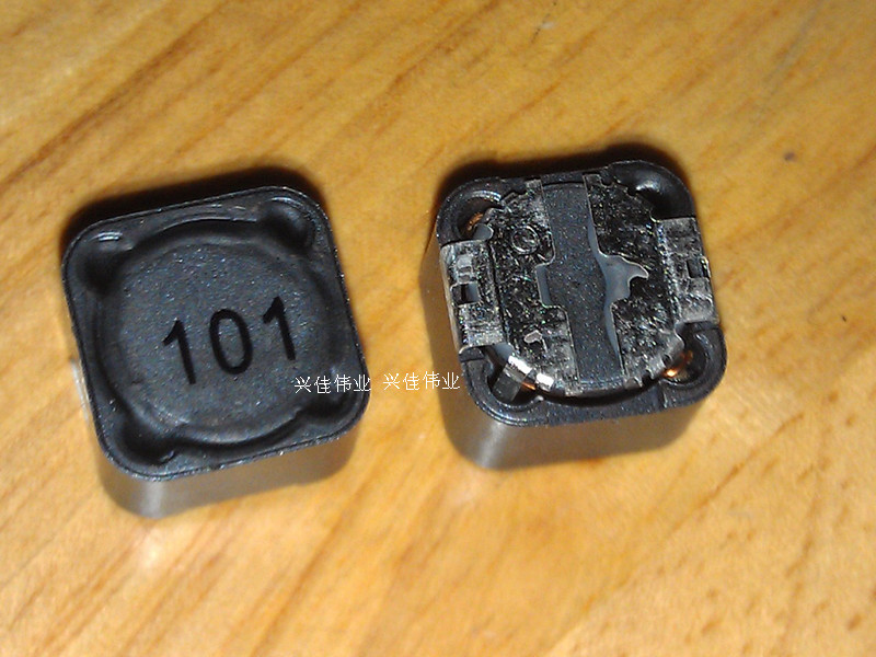 100PCS/LOT Shielding Inductors SMD Power Inductors CD127 100UH (Printing: 101) Volume 12*12*7MM